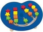 GOKI - Kolorowa łamigłówka logiczna - układanie kuleczek - zabawki drewniane - 58866 w sklepie internetowym Educco.pl