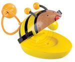 GOKI - Drewniane kastaniety w kształcie pszczółki - zabawki drewniane - GK 61983_1 w sklepie internetowym Educco.pl
