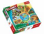 Puzzle okrągłe 24 el. Planet TREFL w sklepie internetowym Mazakzabawki.pl