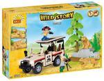 Klocki COBI 22250 Wild Story Safari 250 el. w sklepie internetowym Mazakzabawki.pl