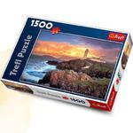 Puzzle 1500 el. Latarnia morska w Irlandii w sklepie internetowym Mazakzabawki.pl