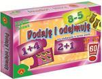 Gra Dodaje i odejmuje puzzle Alexander w sklepie internetowym Mazakzabawki.pl