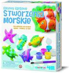 Odlewy gipsowe Stworzenia Morskie 4M w sklepie internetowym Mazakzabawki.pl