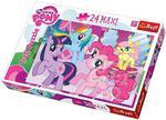 Puzzle My Little Pony 24 Maxi Trefl w sklepie internetowym Mazakzabawki.pl