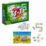 Gra edukacyjna 4w1 Dinozaury Alexander w sklepie internetowym Mazakzabawki.pl
