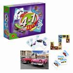 Gra edukacyjna 4w1 Auta Alexander w sklepie internetowym Mazakzabawki.pl