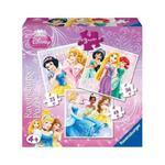 Puzzle 3w1 Księżniczki Ravensburger w sklepie internetowym Mazakzabawki.pl