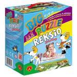 Big Puzzle Reksio 2 x 12 el. Alexander w sklepie internetowym Mazakzabawki.pl
