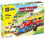 Klocki Jixin Mały Pociąg i Przyjaciele 49 el. w sklepie internetowym Mazakzabawki.pl