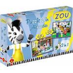 Puzzle 2w1 Zou Alexander w sklepie internetowym Mazakzabawki.pl