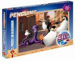 Puzzle 3D 20 Maxi Pingwiny z Madagaskaru w sklepie internetowym Mazakzabawki.pl