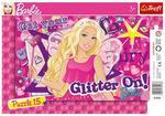 Puzzle Ramkowe 15 el Wróżka Barbie TREFL w sklepie internetowym Mazakzabawki.pl