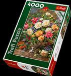 Puzzle 4000 el Kwiaty dla Królowej Trefl 45003 w sklepie internetowym Mazakzabawki.pl