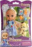 Lalka księżniczka 16 cm z pieskiem w sklepie internetowym Mazakzabawki.pl