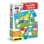 Gra Kolory i kształty Clementoni 60917 w sklepie internetowym Mazakzabawki.pl