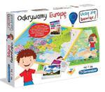 Gra Odkrywamy Europę Clementoni 60923 w sklepie internetowym Mazakzabawki.pl