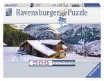 Puzzle 500 el. Drewniany dom Ravensburger w sklepie internetowym Mazakzabawki.pl