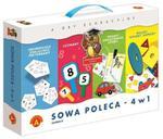 Gra Sowa Mądra głowa poleca 4w1 Zestaw D w sklepie internetowym Mazakzabawki.pl