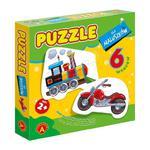 Puzzle dla maluszków pojazdy Alexander w sklepie internetowym Mazakzabawki.pl