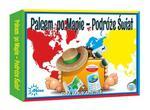 Gra edukacyjna Palcem po mapie Świat Abino w sklepie internetowym Mazakzabawki.pl