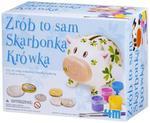Skarbonka Krówka Zrób to sam 4M w sklepie internetowym Mazakzabawki.pl