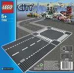 Odcinek prosty i skrzyżowanie LEGO CITY 7280 w sklepie internetowym Mazakzabawki.pl