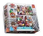 Puzzle 4w1 Bakugan TREFL w sklepie internetowym Mazakzabawki.pl