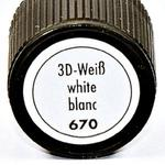 Relief,konturówka Marabu 3D Liner 25 ml 670 biały w sklepie internetowym Sklep Plastyczny