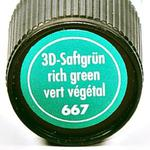 Relief,konturówka Marabu 3D Liner 25 ml 667 ciemna zieleń w sklepie internetowym Sklep Plastyczny