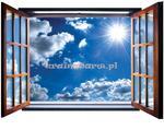 Fototapeta na flizelinie 2074VEZ4 Błękitne niebo w sklepie internetowym KrainaBarw.pl