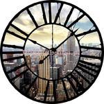 Fototapeta na flizelinie 2574VEZ1 Widok przez zegar na Nowy Jork w sklepie internetowym KrainaBarw.pl
