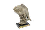 Statuetka RYBA - atrakcyjna figurka odlewana - wysokość 29,5cm w sklepie internetowym Grawernia.pl