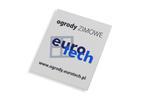 TABLICZKI aluminiowe na produkty z logo Twojej firmy - wym. 50x60x1mm - kolorowy druk UV w sklepie internetowym Grawernia.pl