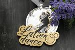 Medal Premium - Latina dance - wymiary: 76x75mm - druk UV - MGR065 w sklepie internetowym Grawernia.pl