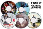 Projekt szaty graficznej płyty CD lub DVD + wybierz wydruk nakładu w sklepie internetowym Grawernia.pl