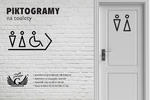 Piktogramy z plexi na toalety - czarny akryl 3mm - TT022 w sklepie internetowym Grawernia.pl