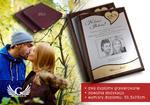 DYPLOM ŚLUBNY w ETUI - DS008 - Podziękowanie dla rodziców z fotografią - komplet 2 szt. w sklepie internetowym Grawernia.pl