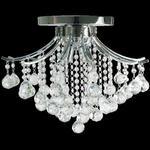 Plafoniera kryształowa Elem Wenecja 5191/4 8C chrom w sklepie internetowym Kosmiczne Lampy