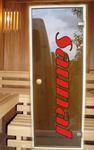 Drzwi szklane- afrykańska samba/ abache w sklepie internetowym Sklep.saunal.pl