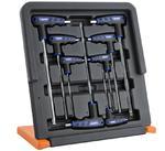 Klucze imbusowe ampule typ T BOXO stojak 8szt w sklepie internetowym Sklep P.H.U. Szczepan