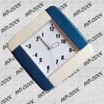 Anty zegar plastikowy kwadrat w sklepie internetowym funnyclock.eu