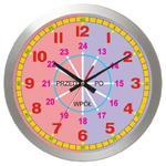Zegar edukacyjny metal Mój pierwszy zegar w sklepie internetowym funnyclock.eu