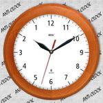 Zegar drewniany rondo REWERS #1 w sklepie internetowym funnyclock.eu