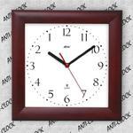Anty zegar kwadrat drewniany #2 w sklepie internetowym funnyclock.eu