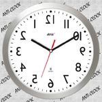 Anty zegar z aluminiową ramką SLIM #1 w sklepie internetowym funnyclock.eu