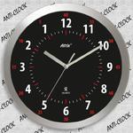Anty zegar z aluminiową ramką SLIM #3 w sklepie internetowym funnyclock.eu