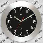 Anty zegar z aluminiową ramką WIDE #2 w sklepie internetowym funnyclock.eu