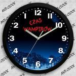Anty-Zegar ścienny SOLID czas wampirów w sklepie internetowym funnyclock.eu