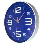 Nowoczesny zegar ścienny ALFA /niebieski w sklepie internetowym funnyclock.eu
