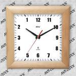 Anty zegar kwadrat drewniany #1 w sklepie internetowym funnyclock.eu